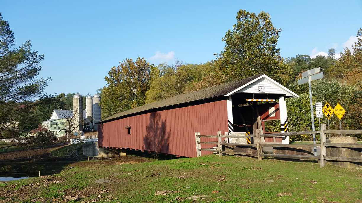 Tour Covered Bridges in Lancaster County, PA
